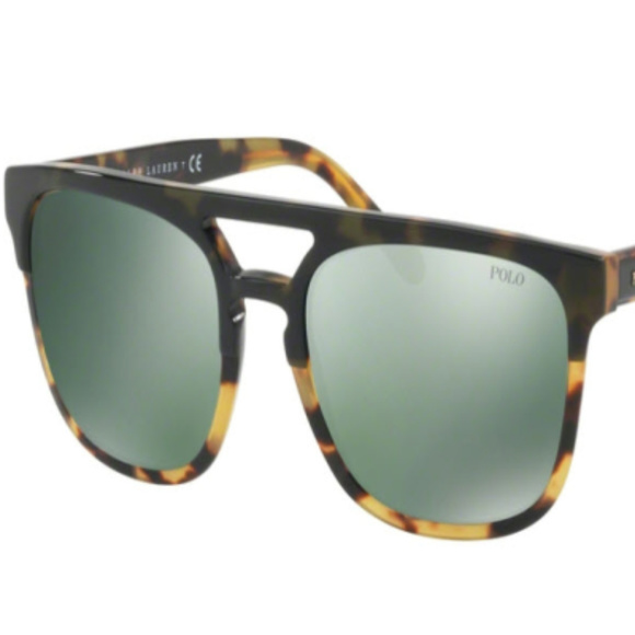 POLO Other - NWT Polo PH 4125 56366R Green Sunglasses